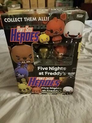 five nights at freddy's pint size heroes unopened box