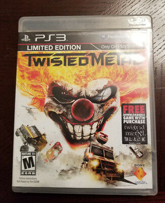 Twisted Metal Sony PlayStation 3 (PS3)