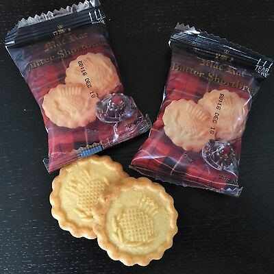 MacRae Butter Shortbread - Portion Control Biscuits - 100 packs- Air B&B, motels