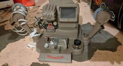 Vintage Mansfield  Model 650 8MM, 16MM, Viewer, Editor, and Dri-Splicer