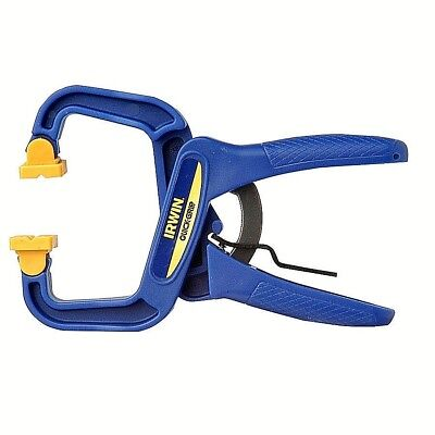 QUICK-GRIP Clamp By IRWIN QUICK-RELEASE Trigger Adjustable Clamping Strong 4-in