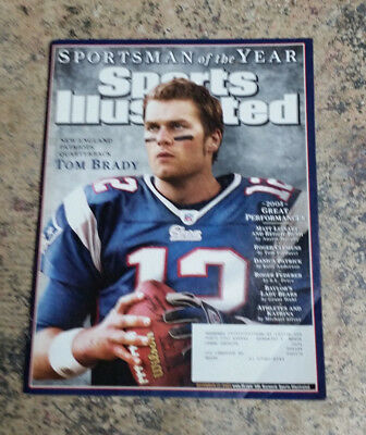 2005 Sports Illustrated Tom Brady Sportsman Of The Year New England Patriots