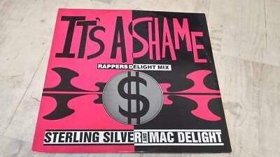Sterling Silver And Mac Delight - It`s A Shame - Black Classics!