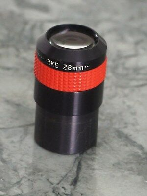 "Edmund Scientific 28mm eyepiece 1.25"" for Telescope used"