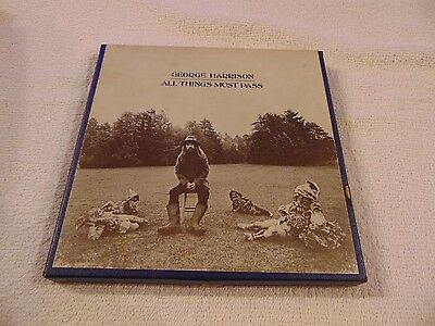 George Harrison All Things Must Pass Triple Play Reel To Reel  4 Track 3 3/4 Ips