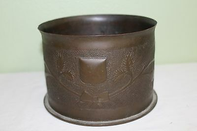 Antique 1915 WWI 79th Division Shell Trench Art Beautiful Work GFSP 224 SP197