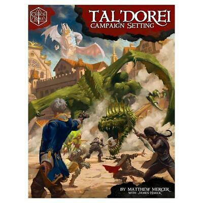 Critical Role Tal'Dorei Campaign Setting 5th Ed Hardcover Green Ronin Publishing