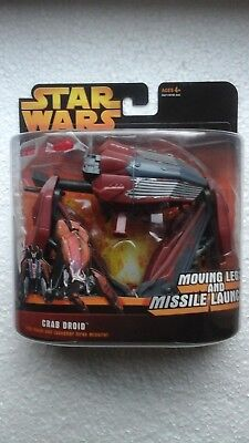 Star Wars ROTS ++ Deluxe Crab Droid ++ Revenge Of The Sith MOC Factory Sealed