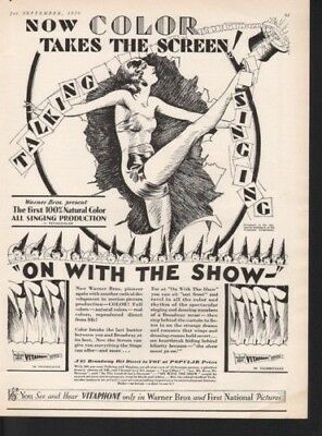 1929 On With The Show Broadway Musical Dance Movie Film12539