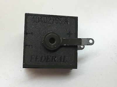 Vintage Federal 404D2795-A Radio Rectifier - NEW