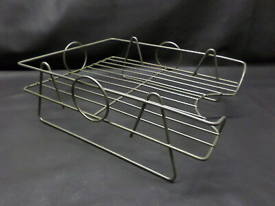 Vintage Metal/wire Desk Letter Tray - Art Deco - Desk Tray - 1950's - Solid