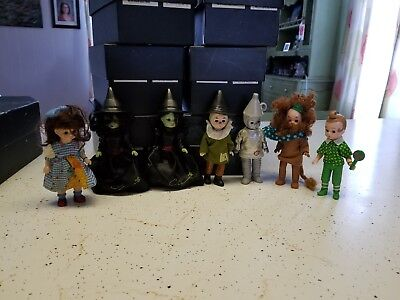 "Lot of 13 McDonald's Madame Alexander ""Wizard of Oz"" Dolls 2007 - 2010 used"