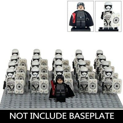 STAR WARS: the last Jedi Kylo Ren + stormtroopers 21pcs, Minifigures Fits Lego
