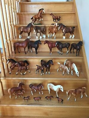 Breyer horses / Vintage collection in excellently condition - lot of 26