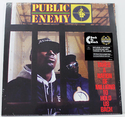 PUBLIC ENEMY It Takes A Nation Of Millions LP vinyl 180g 2013 Def Jam   SEALED