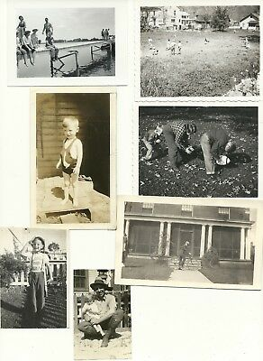 "Vintage 1920's-1950's Original Photograph Lot of 22 ""Classics"""