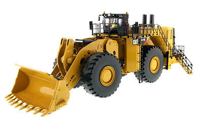 DM Diecast Masters 1/50 CAT Caterpillar 994K Wheel Loader w/Rock Bucket 85505