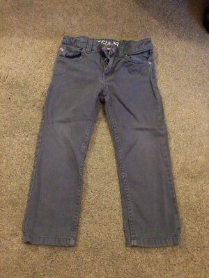 H&M Boys Light Blue Soft Cotton Skinny Jeans, Age 3-4 Years, Used