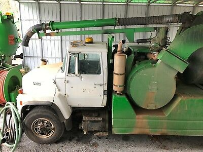1991 Ford L8000 Vactor combination Sewer jetter/vac truck