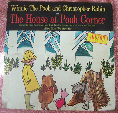 Winnie the Pooh and Christopher Robin in The House at Pooh Corner