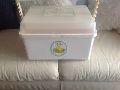 Mothercare Baby Changing Box Winnie The Pooh Classic Cream