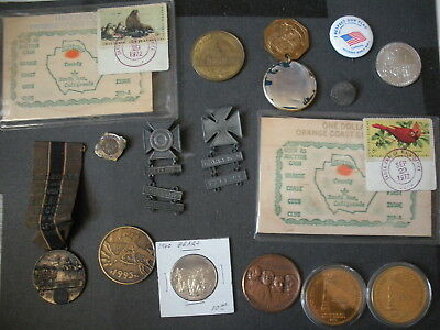 Mixed Tokens/Medals lot of 100