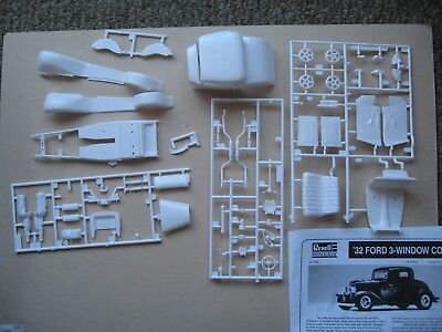 Revell 1932 Ford 3-Window Coupe Junk Yard Parts