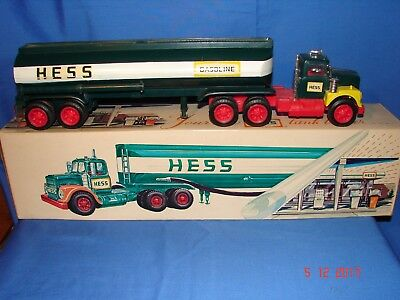 1968 HESS Tanker Truck - With Box - Works