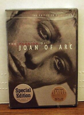 The Passion of Joan of Arc DVD Criterion New