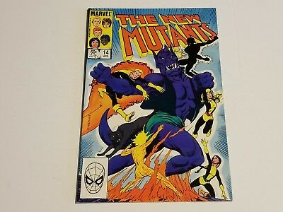 New Mutants #14 Marvel Comics 1985 1st appearance of Magik