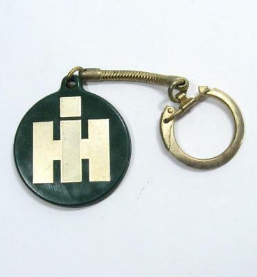 VTG IH International Harvester Key Chain Fob Green Award of Merit Safety Council