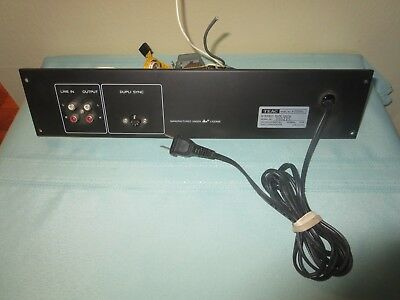 OEM TEAC X2000R Reel to Reel Tape Deck Part Power Dupli Sync Line In/Out Speaker