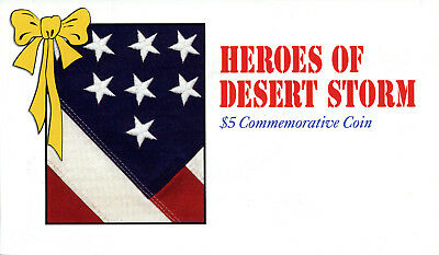 Heroes of Desert Storm $5 Commemorative Coin Marshall Islands