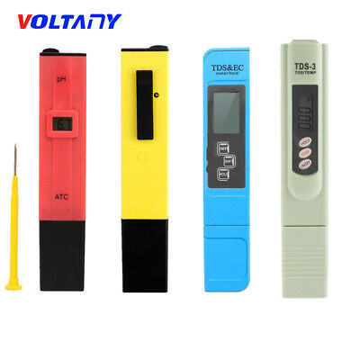 Digital PH Meter & TDS LCD Tester Lab/PH Testpapier For Aquarium Pool Hydroponic