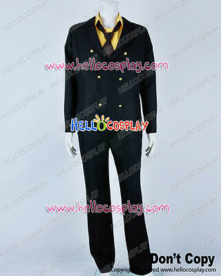 One Piece Cosplay Two Years Later Sanji Suit Costume Short Tie H008