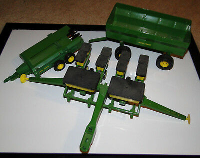 ERTL John Deere Equipment Lot Metal Toy Models
