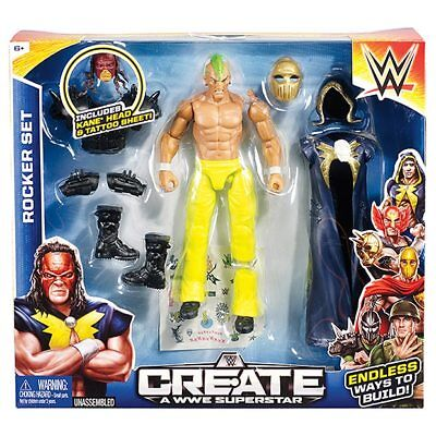 NEW Create A WWE Star Starter Pack Age: 6+