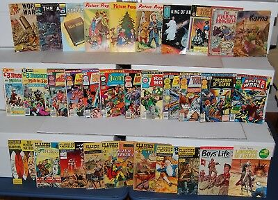 Classics Illustrated DC Marvel King Silver Bronze Age Comic 36pc Collection Lot