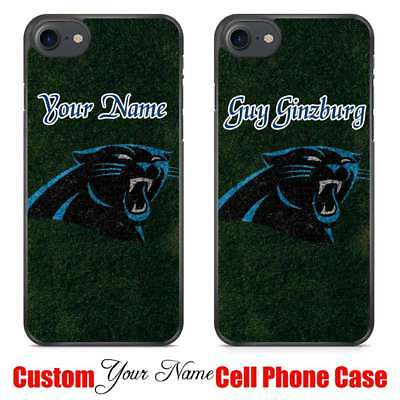 Personalized American Football Carolina Panthers NFL Your Name Phone Case Cover