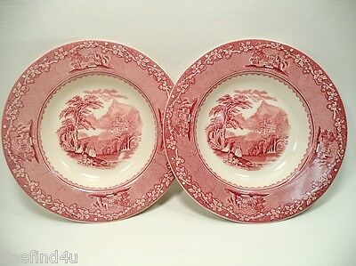 Jenny Lind 1795 by Royal Staffordshire China Set(s) of 2 Rim Soup Cereal Bowls