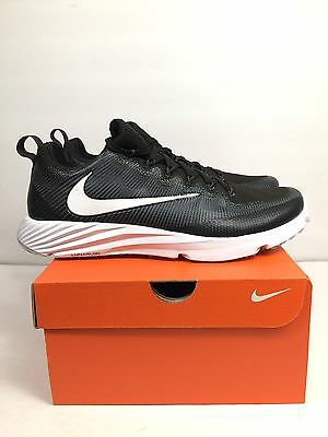 Nike Vapor Speed Turf Mens Black White Shoes 11 New
