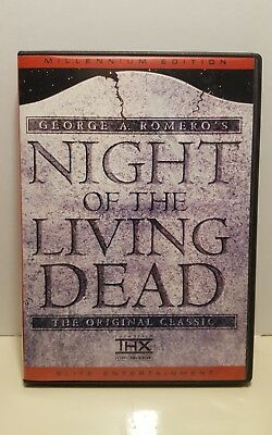 Night of the Living Dead (DVD, 2002, Millennium Edition)