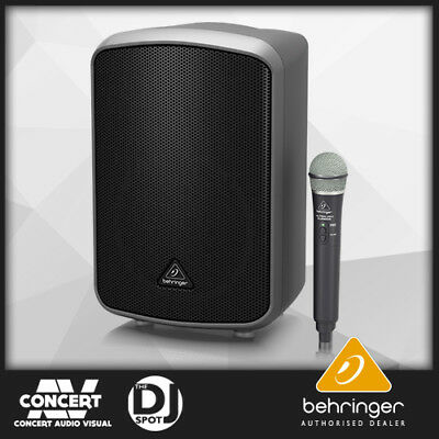 "Behringer Europort MPA200BT 8"" 200W Portable Bluetooth Speaker with Wireless Mic"