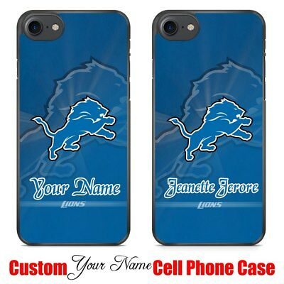NFL Detroit Lions American Football Team Sports Custom Your Name Phone Case