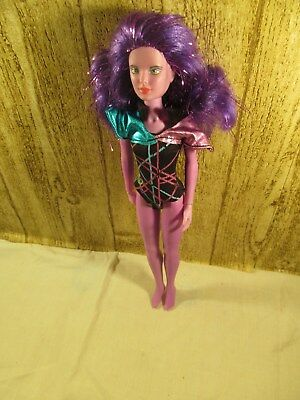 Jem and the Holograms Doll Purple Synergy Hasbro Vintage 1980s