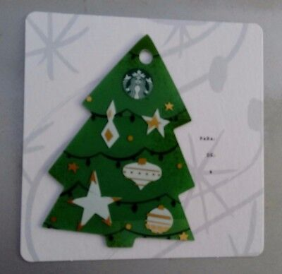 """Mexico Starbucks Card Xmas """"Tree"""" 2017, Purpose Only Collection Mexican"""
