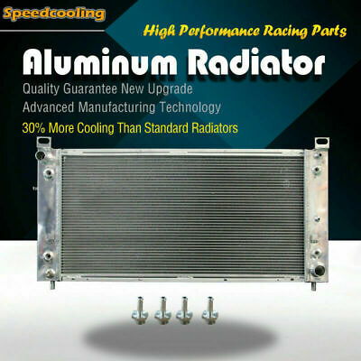 2370 3row Aluminum Radiator For Chevy Silverado Suburban Tahoe Escalade 99-14 V8