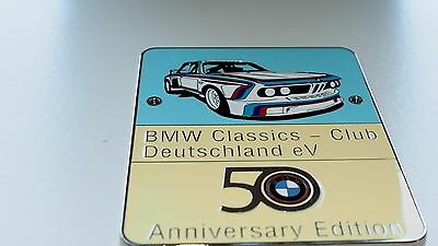 BMW E9 grill badge club emblem badge 2800 CS 2800 CS 3.0 CS 3.0 CSA 3.0 CSi 3.0