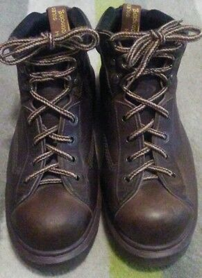 The Original Dr Martens 8287 Brown, with bouncing sole SZ 9 Excellent