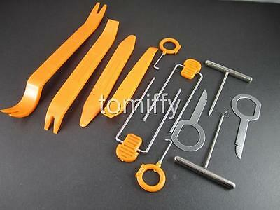 Car Interior Panel Audio Stereo GPS Molding Removal Install Tools 12pcs One Set